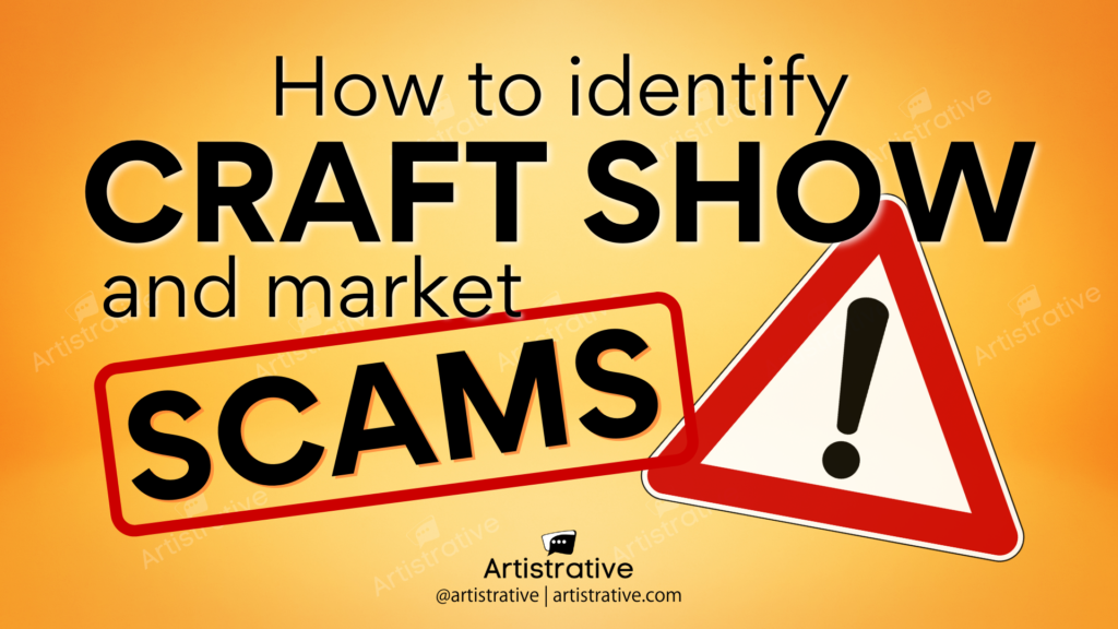 How to spot a craft show or market scam!
